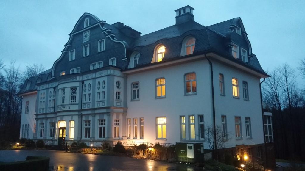 Gebäude der Hotelanlage Große Ledder