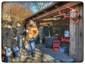 Bogenflohmarkt. Essen und Getränkeversorgung