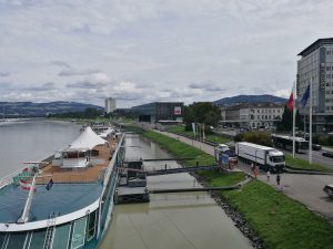 Donauufer in Linz