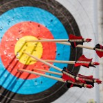 Zielscheiben beim Bogensport