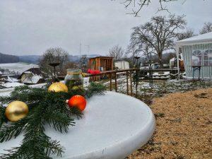 Weihnachtsflohmarkt 2017 / Traditioneller Bogenparcours Hohenlohe