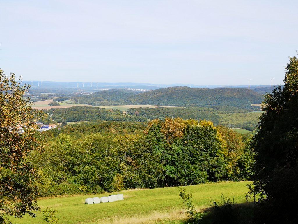 Aussicht Parcours Schaumberg