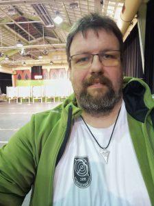 Sören Spieckermann auf der Regionalmeisterschaft West des DFBV in der Halle