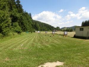 Bogenplatz auf dem Campingplatz Rutar Lido in Kärnten